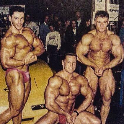 Soustředění  federace IFBB v Mariánských lázních 1997